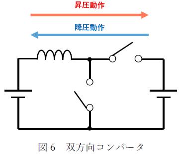 図6 双方向コンバータ